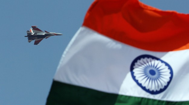 An Indian Air Force Sukhoi Su-30 © Dibyangshu Sarkar / AFP